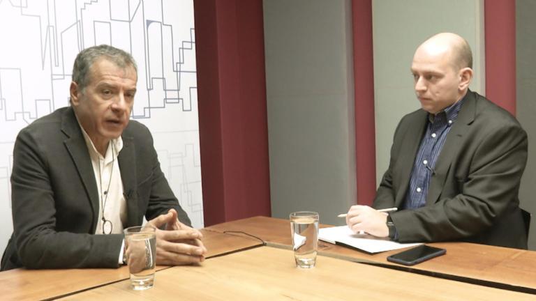 Σταύρος Θεοδωράκης για Συμφωνία των Πρεσπών – Θέλουμε λύση αλλά δεν έχουμε αποφασίσει ακόμα