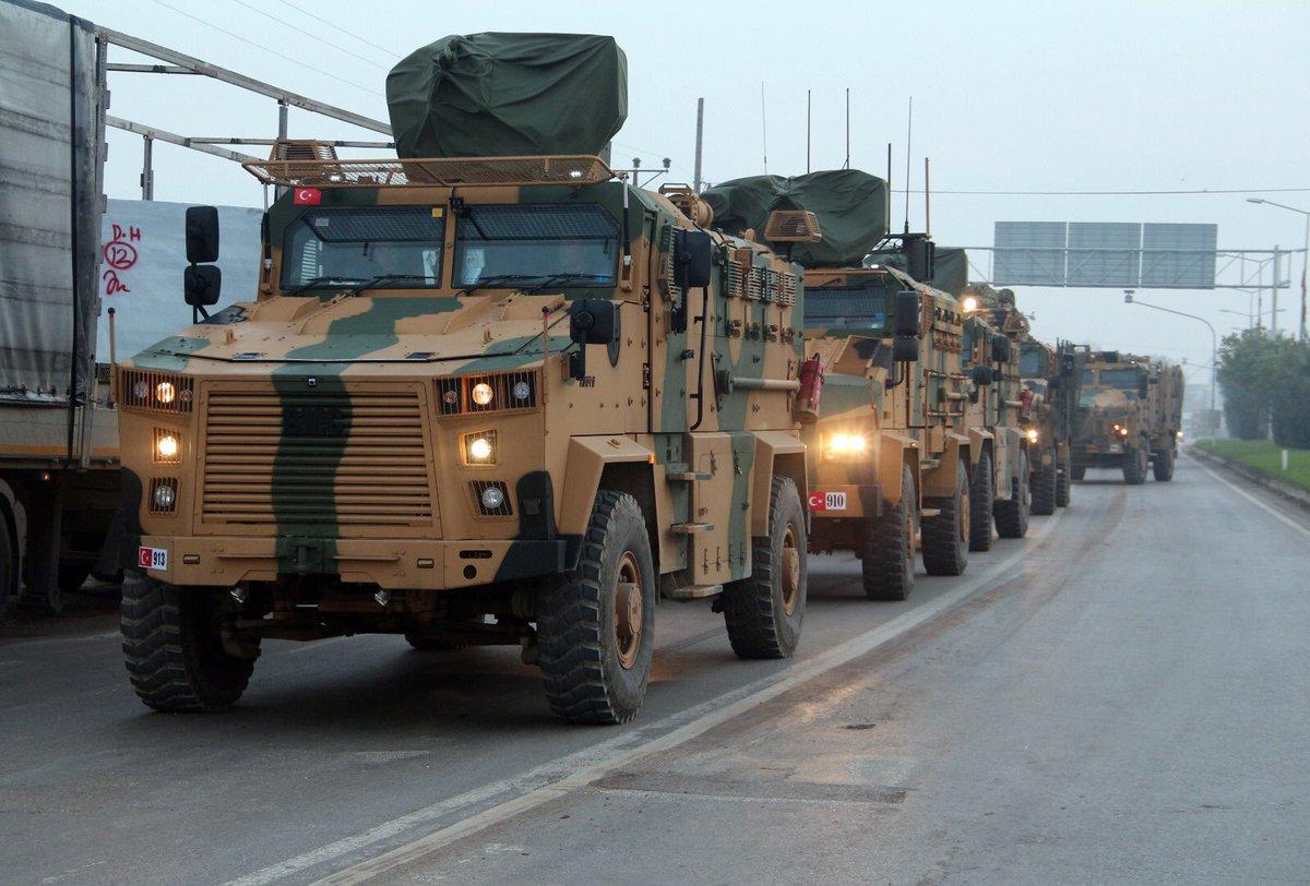 Μαζική μετακίνηση Tουρκικών δυνάμεων – Βομβαρδίζουν τους Κούρδους στην Tel-Rifat – Αντεπίθεση & από τους Ισλαμιστές