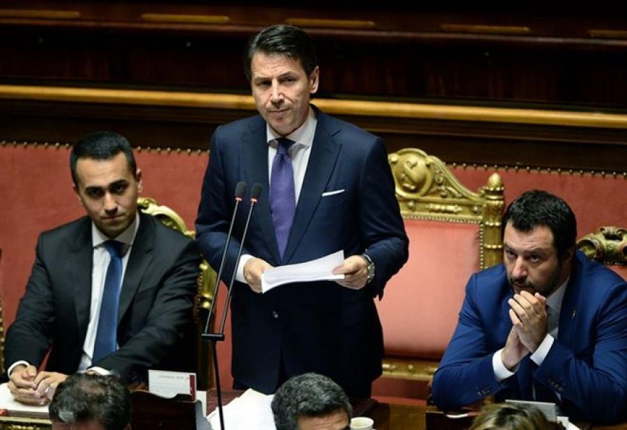 Όχι από Salvini – Di Maio σε έλλειμμα κάτω από 2% για το 2019 – Κοντά σε συμφωνία με την ΕΕ λέει ο Conte