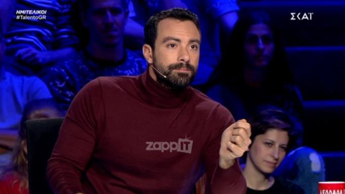 Ελλάδα έχεις ταλέντο – Σάκης Τανιμανίδης: Η συγκίνηση και η ευχή του για την οικογένεια του με τη Χριστίνα Μπόμπα