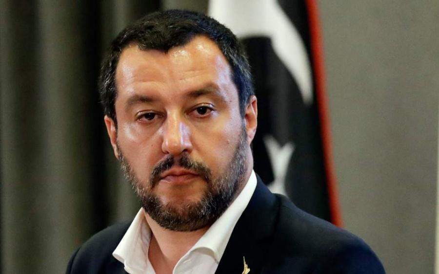 Στην Αθήνα ο Salvini για να παρακολουθήσει τον αγώνα Ολυμπιακού – Μίλαν