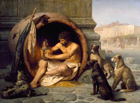 Ποιος ήταν ο Διογένης που περιφρόνησε τον Μέγα Αλέξανδρο, χλεύασε τον Πλάτωνα και κατέκτησε τη διασημότερη πόρνη; Ποιο ήταν το περίφημο ρητό του για την εξουσία