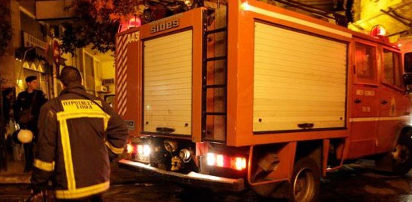 Εκτακτο: Κάηκε ολοσχερώς ο ραδιοσταθμός «Notos fm» στη Ρόδο