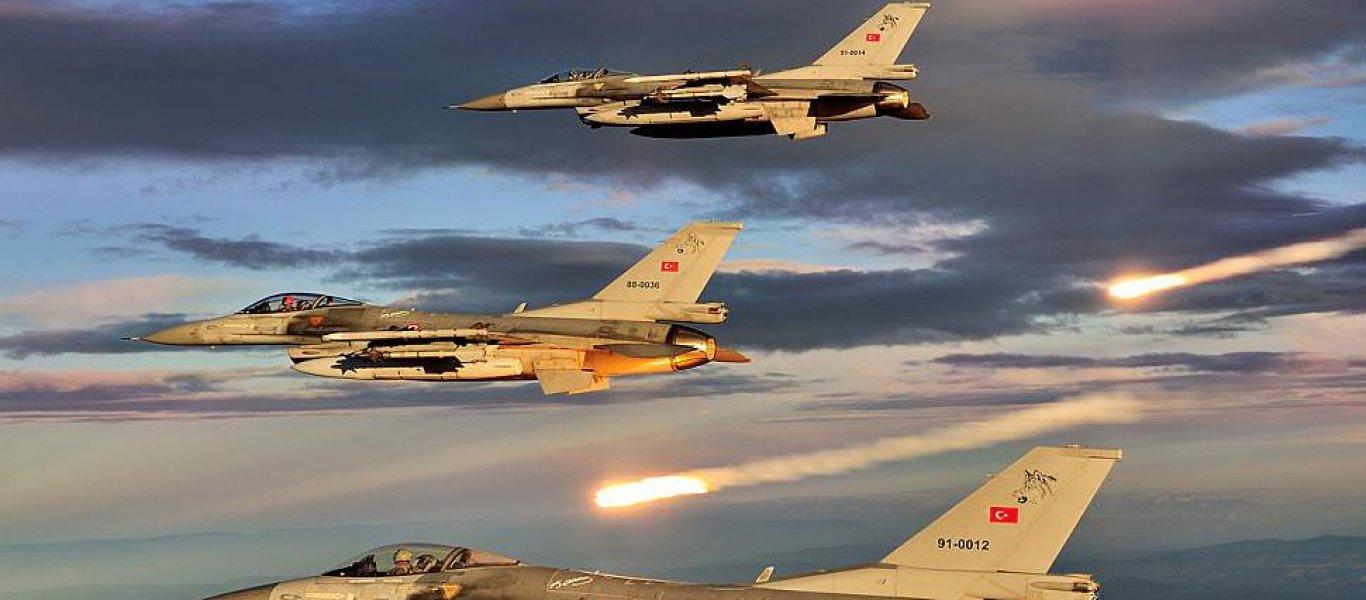 ΕΚΤΑΚΤΟ: Τουρκικά μαχητικά εκτέλεσαν εικονική προσβολή ελληνικού εδάφους στους Φούρνους – 29′ εμπλοκή με F-16 της ΠΑ!