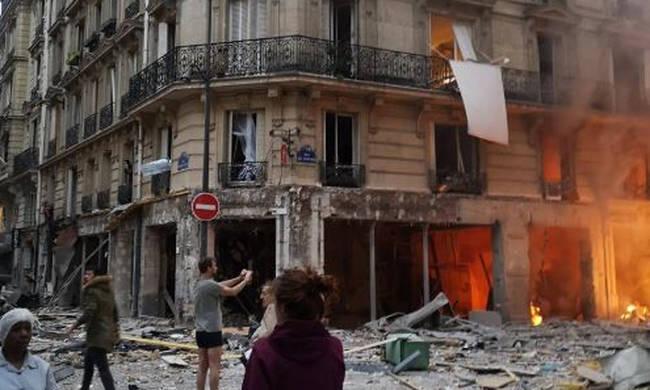 Τέσσερις νεκροί από την έκρηξη στο Παρίσι – ΤΩΡΑ