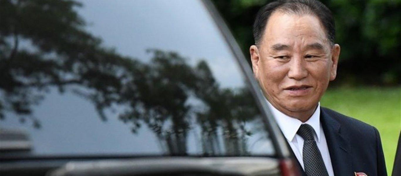 Καθοδόν προς την Ουάσιγκτον το δεξί χέρι του Κιμ Γιονγκ Ουν