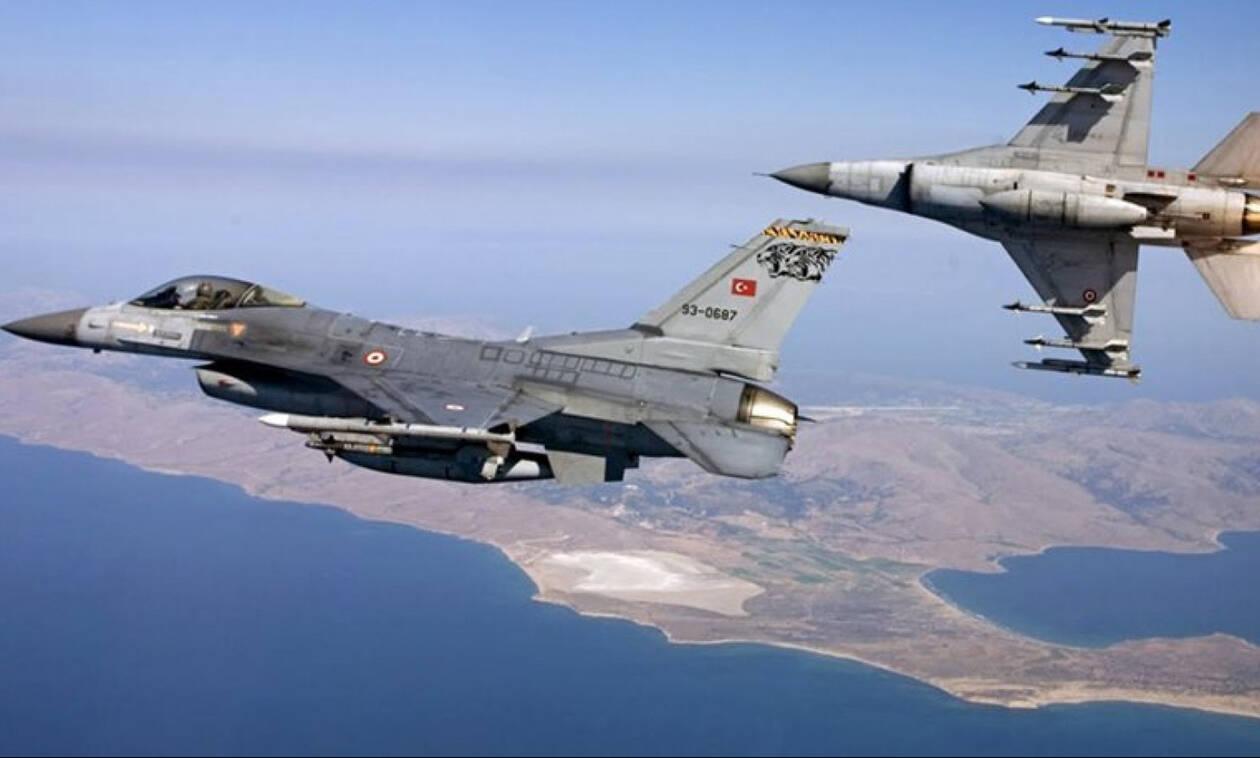 Συναγερμός στο Αιγαίο: Υπερπτήσεις τουρκικών F-16 πάνω από το Κουνελονήσι