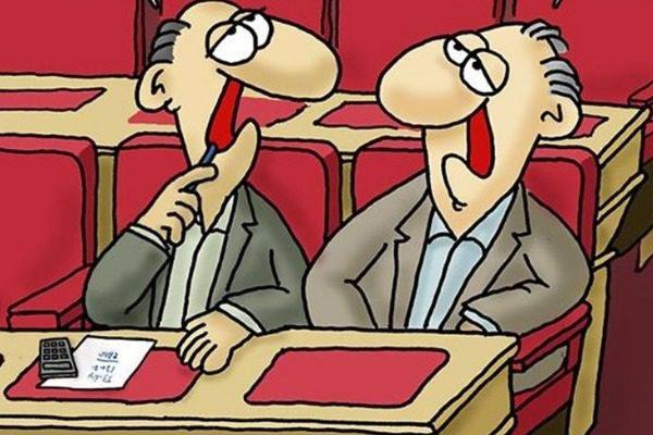 Το καυστικό σκίτσο του Αρκά για τη στάση των βουλευτών απέναντι στην κυβέρνηση