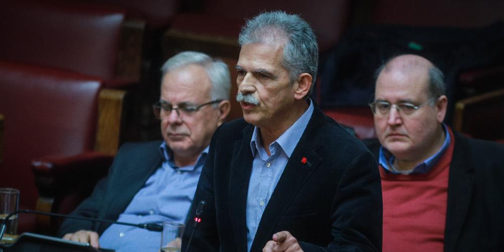 Δανέλλης στη Βουλή: Ήμουν πάντα συνεπής στις αρχές και την συνείδησή μου