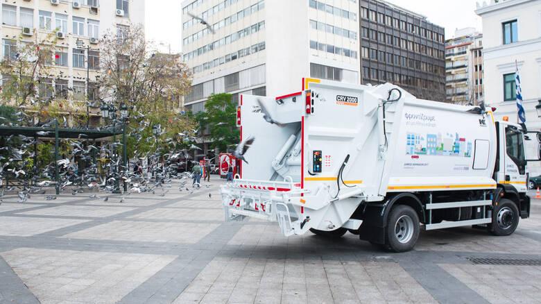 Αποκομιδή σκουπιδιών μέσω… μηνυμάτων στην Αθήνα