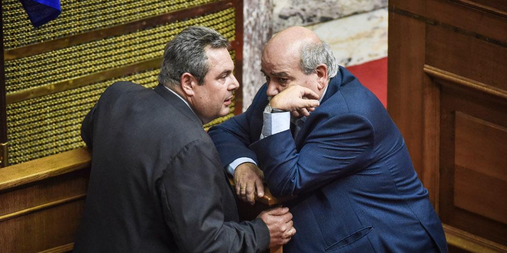 «Ρουκέτες» Καμμένου κατά Βούτση: Ο γιος του να είναι εκτός φυλακής και να παίρνει άδειες ο Κουφοντίνας