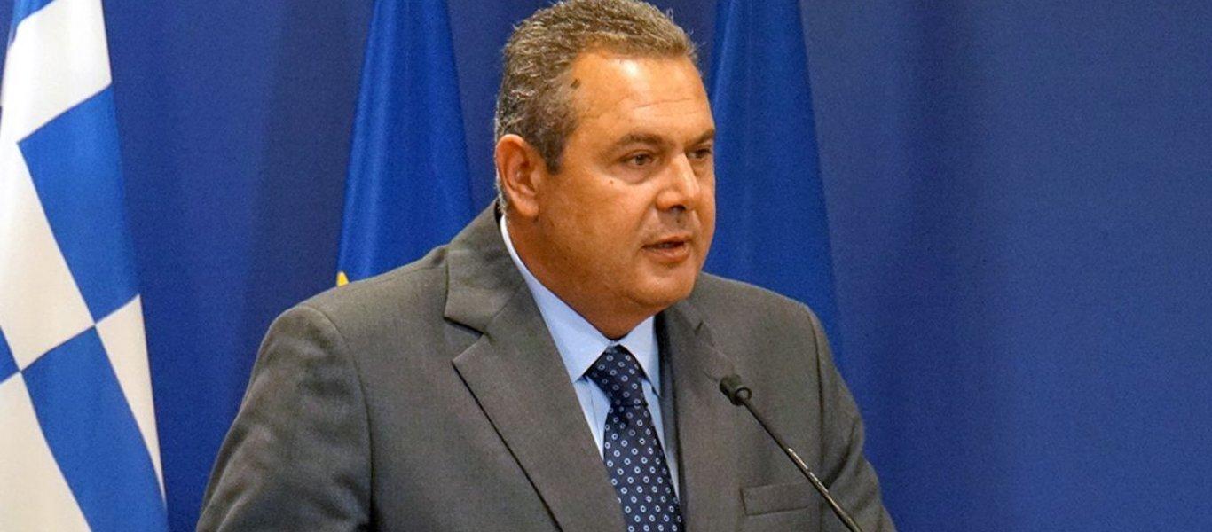 Π.Καμμένος: «Αποστρατεύτηκαν οι αξιωματικοί οι οποίοι διαφωνούσαν με την εκχώρηση της Μακεδονίας»