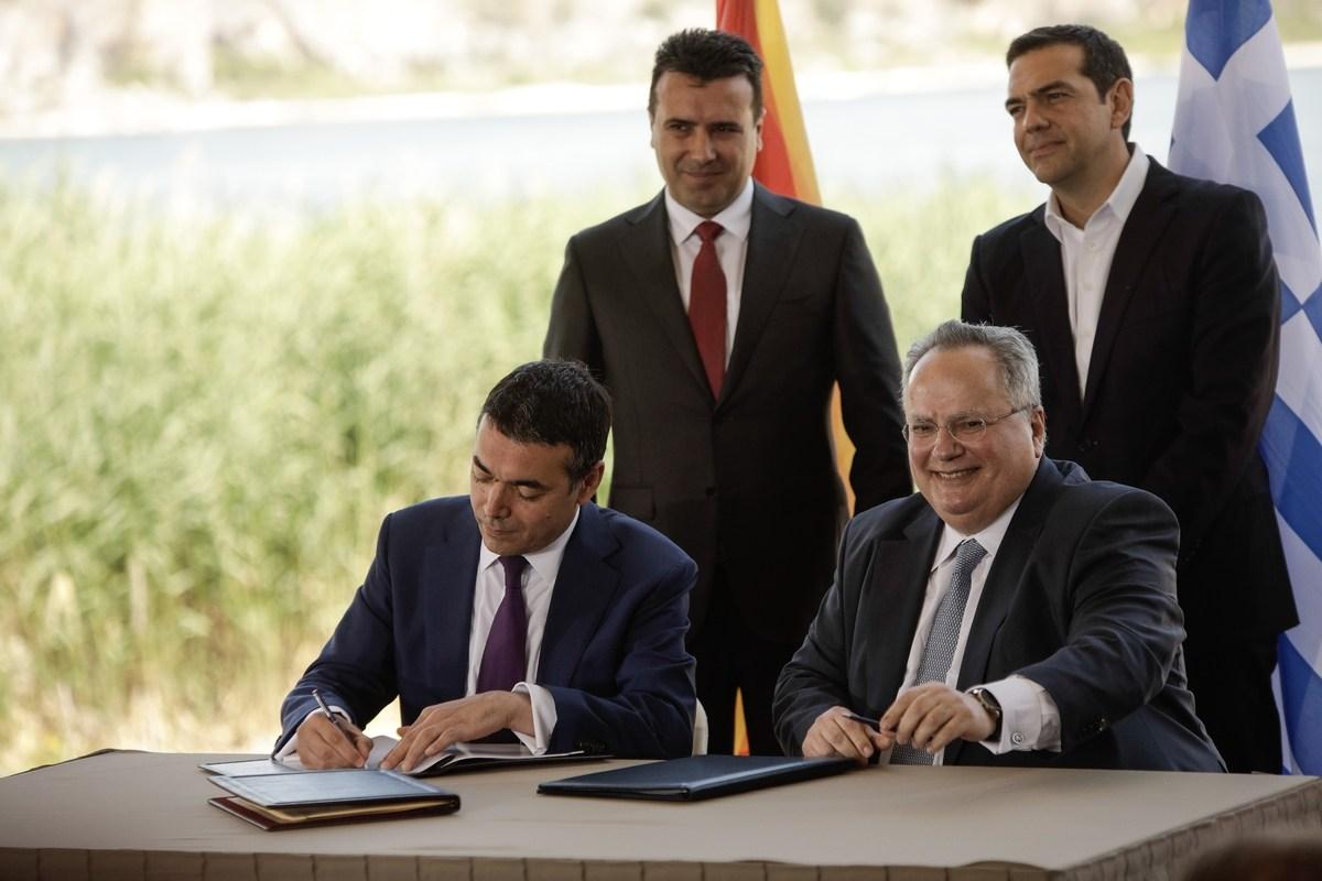 Οι πιέσεις σε Γκρούεφσκι, η εμπιστοσύνη σε Ζάεφ και ο αλβανικός παράγοντας: Ο Κοτζιάς για το παρασκήνιο της Συμφωνίας των Πρεσπών