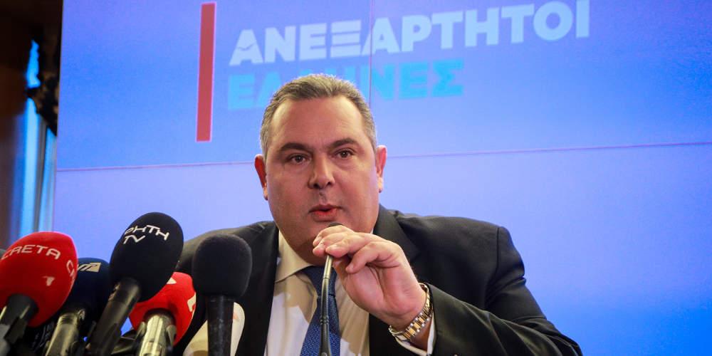 Καμμένος: Θα παλέψω να μην υπάρξει το «151» – Εγώ κράτησα την κυβέρνηση Τσίπρα
