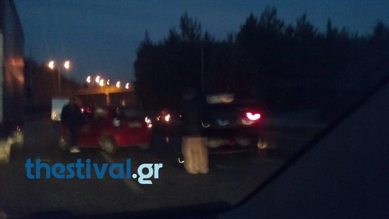 Καραμπόλα 15 oχημάτων στον περιφερειακό Θεσσαλονίκης