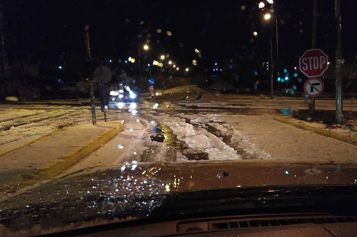 Χιόνισε ακόμα και στο Ηράκλειο – Δείτε φωτογραφίες