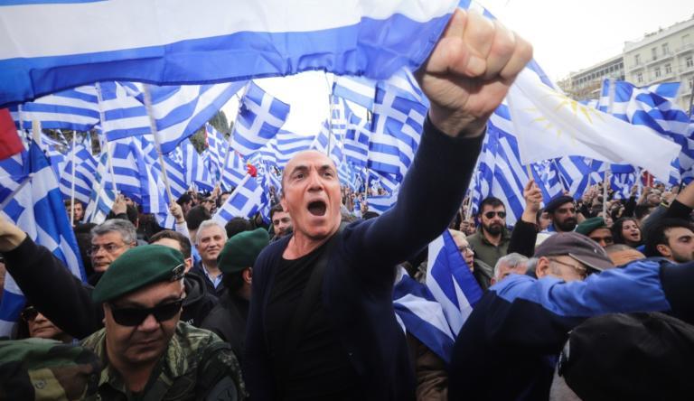 Συλλαλητήριο – Μακεδονία: Ένταση και… μπογιές στον Άγνωστο Στρατιώτη!