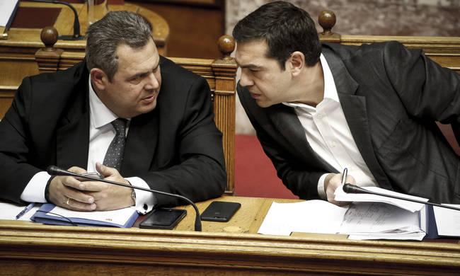 ΕΚΤΑΚΤΟ! Τελεσίγραφο Τσίπρα σε Καμμένο: Δώσε ψήφο εμπιστοσύνης ή τη ζητάω από τη Βουλή