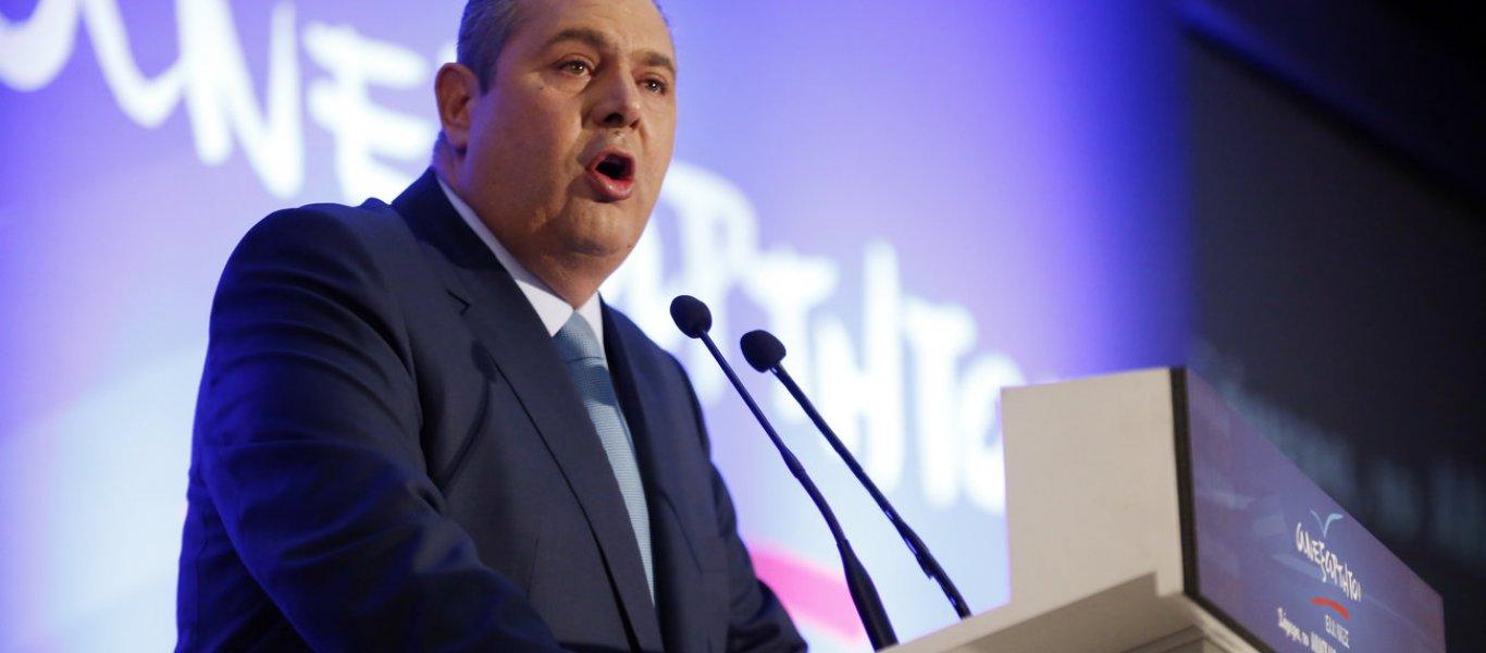 Π.Καμμένος: «Αναβάλλω την συνάντηση με Τσίπρα λόγω εμπλοκής στα Σκόπια» – Συνεδριάζει η ΚΟ των ΑΝΕΛ