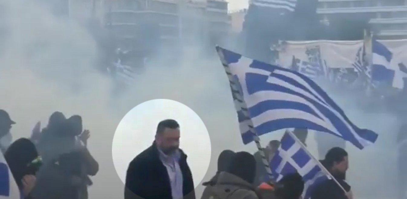 Έβγαλε… Λαγό το βίντεο με τα επεισόδια από το συλλαλητήριο (pics+vid)