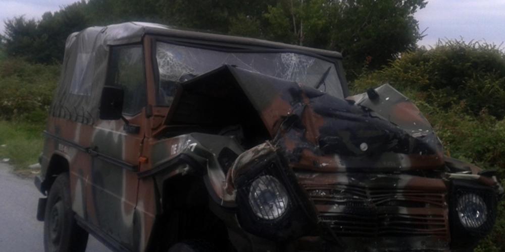 Δύο φαντάροι τραυματίστηκαν σε τροχαίο στη Σύμη