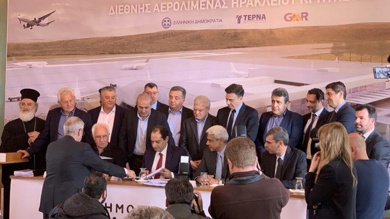 Γιατί δεν πήγε ο Λαμπρινός στη υπογραφή της σύμβασης για το αεροδρόμιο Καστελλίου ;