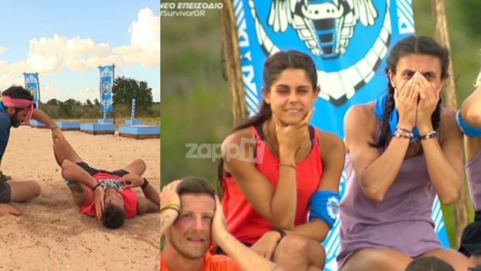 "Survivor: Χτύπησε άσχημα στο κεφάλι ο Τόνι! ""Πάγωσαν"" στον ελληνικό πάγκο…"