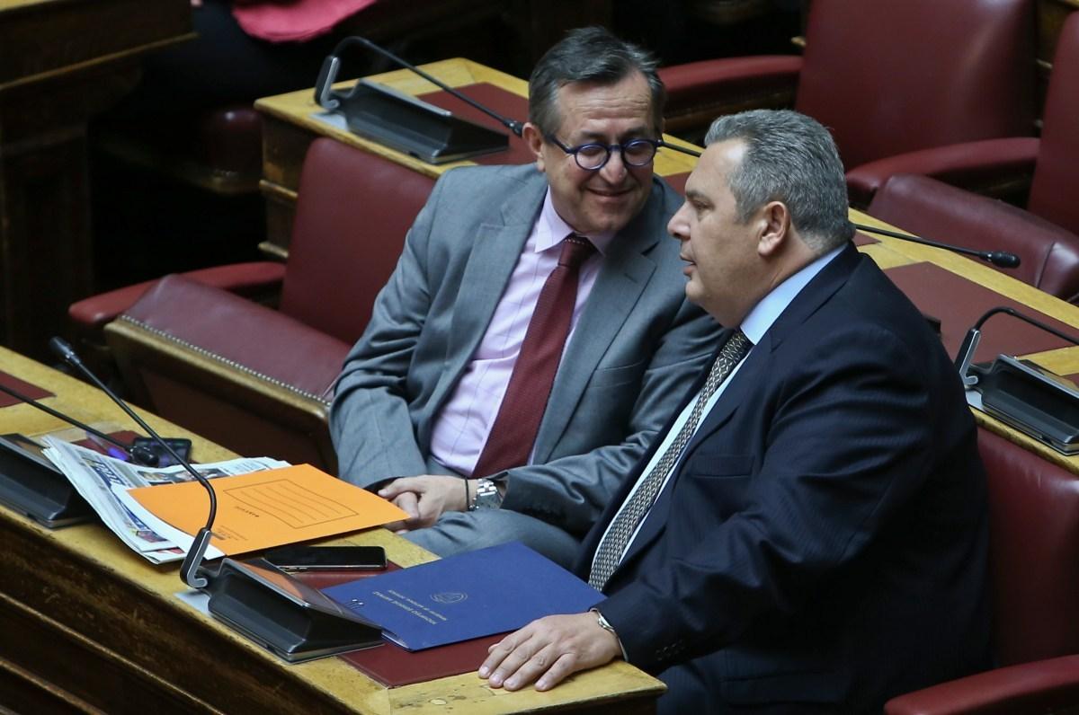 Μήνυση κατά του Καμμένου για εκβιασμό κατέθεσε ο Νικολόπουλος