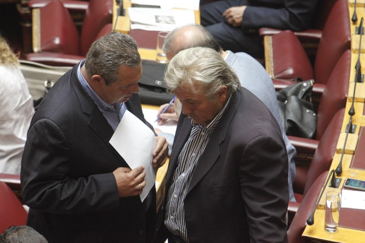 Καμμένος: Θα διαγράψω τον Παπαχριστόπουλο αφού μιλήσω στη Βουλή