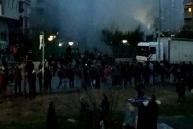Πτώση στρατιωτικού ελικοπτέρου στην Κωνσταντινούπολη UPD