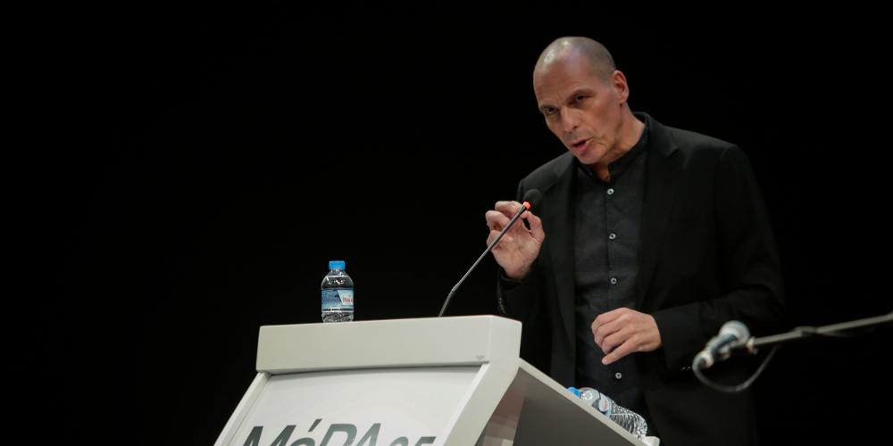 Βαρουφάκης για Καμμένο: Το 2015 ήταν υπέρμαχος του Grexit