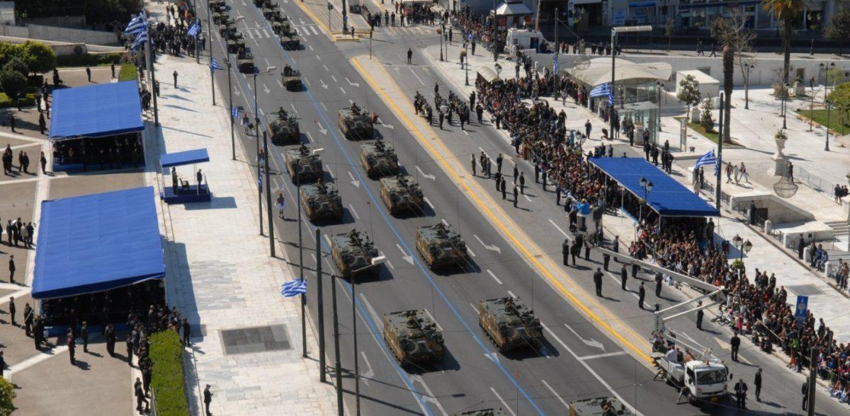 «Φρούριο» οι παρελάσεις: 1.600 αστυνομικοί στην Αθήνα – Ανησυχία για τη Βόρεια Ελλάδα (vid)