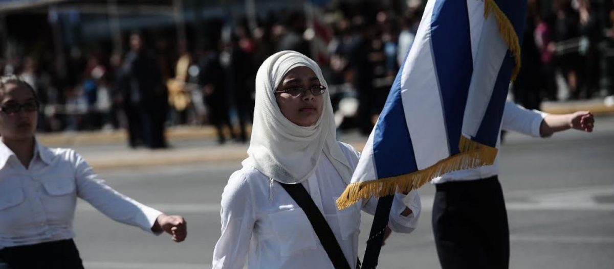 Πού είσαι Κολοκοτρώνη να δεις την Ελλάδα του 2019 και τις ισλαμικές μαντίλες να παρελαύνουν… (φωτό, βίντεο)