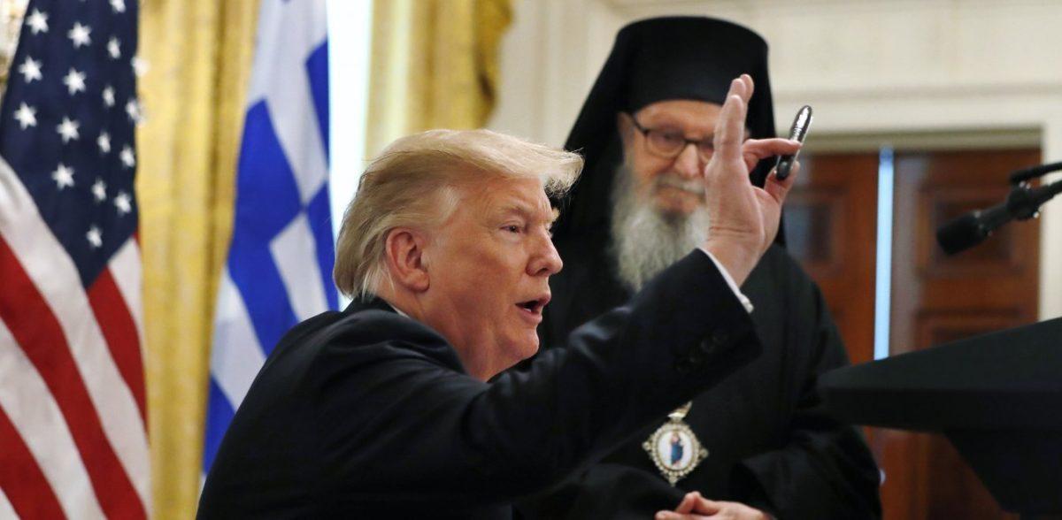 Ο Τραμπ «ξέχασε» εναντίον ποιας δύναμης επαναστάτησαν οι Έλληνες το 1821