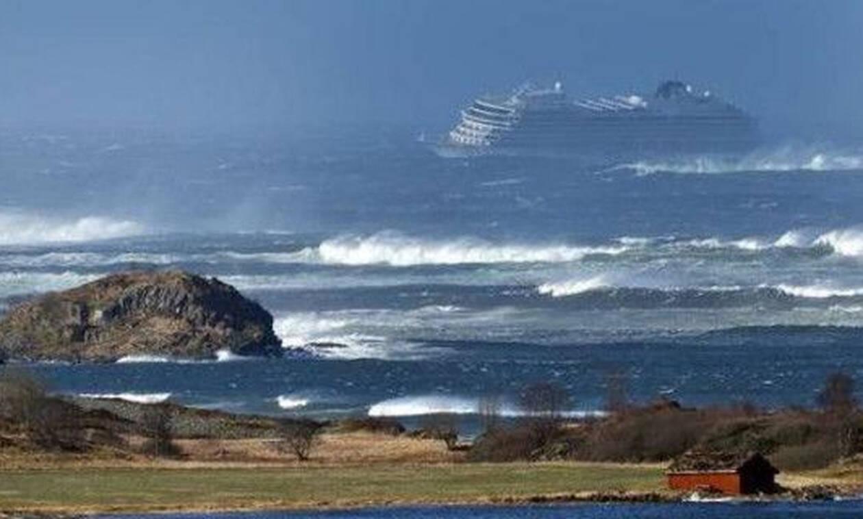 Νορβηγία: Εκκένωση θρίλερ 1.300 επιβατών από κρουαζιερόπλοιο -Βίντεο τρόμου