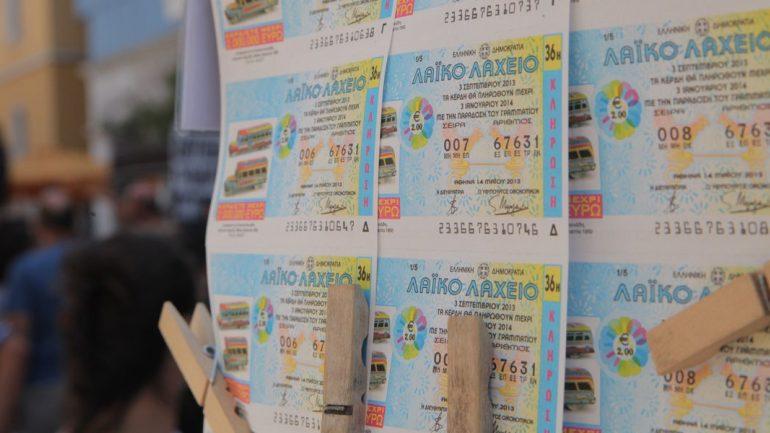 Στην Κρήτη 100 χιλιάδες ευρώ από το Λαϊκό Λαχείο!