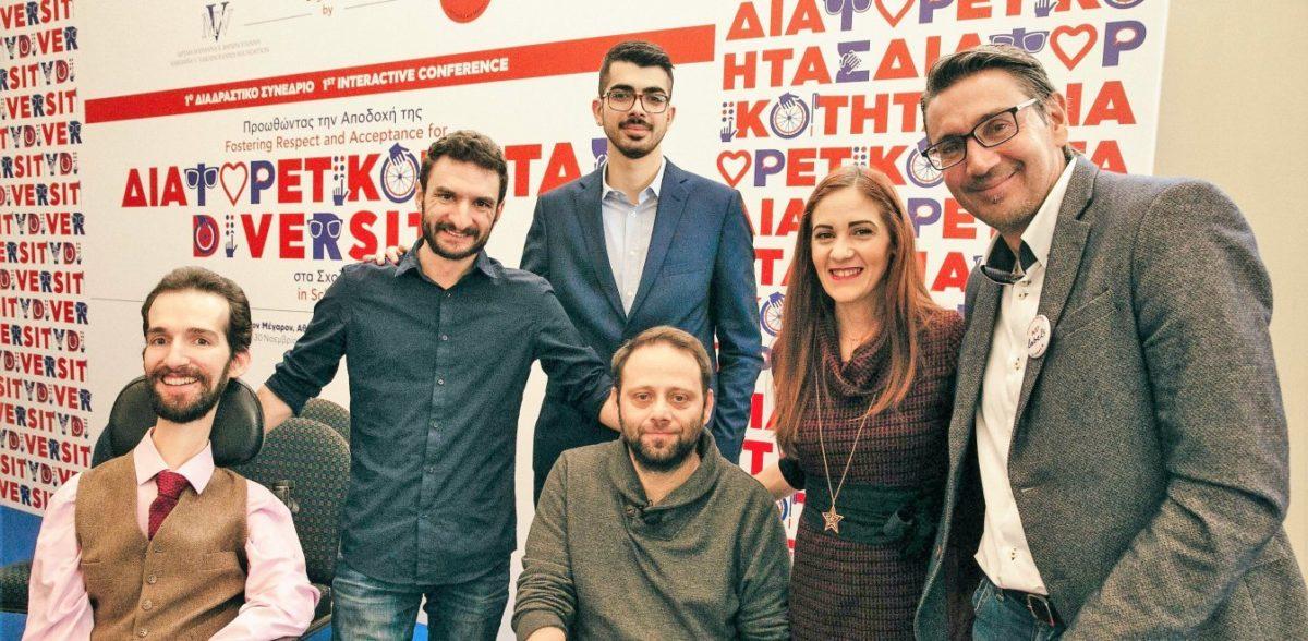 Στέλιος Κυμπουρόπουλος: Η κοινωνία βάζει εμπόδια στους ανάπηρους