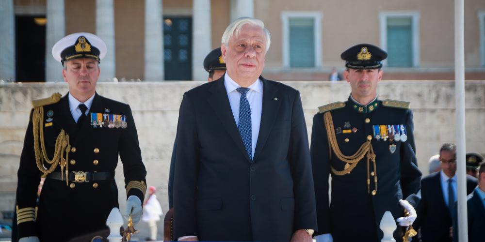 Παυλόπουλος: «Μολών Λαβέ» σε όσους επιβουλεύονται την ελευθερία μας [βίντεο]