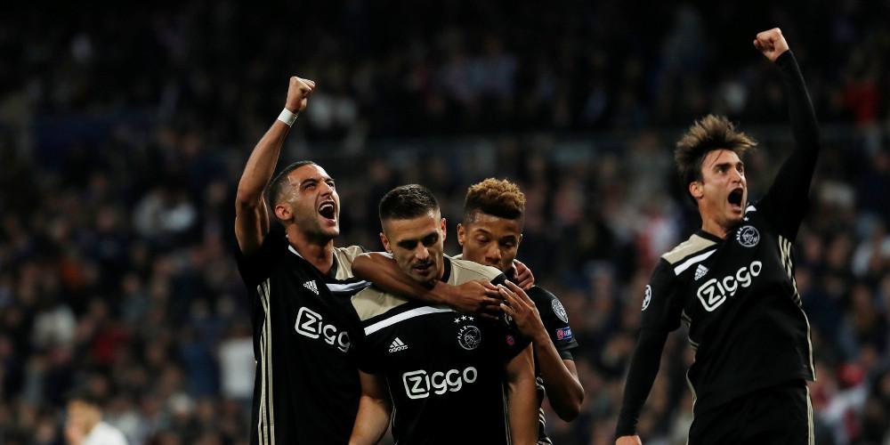 Διέλυσε την Ρεάλ ο Άγιαξ με 4-1 και πήρε την πρόκριση στους «8» του Champions League