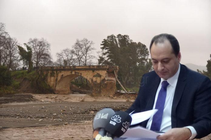 Χανιά | Τι είπε ο Σπίρτζης για τις καταστροφές από την κακοκαιρία – Πόσα χρήματα θα δοθούν στους πληγέντες