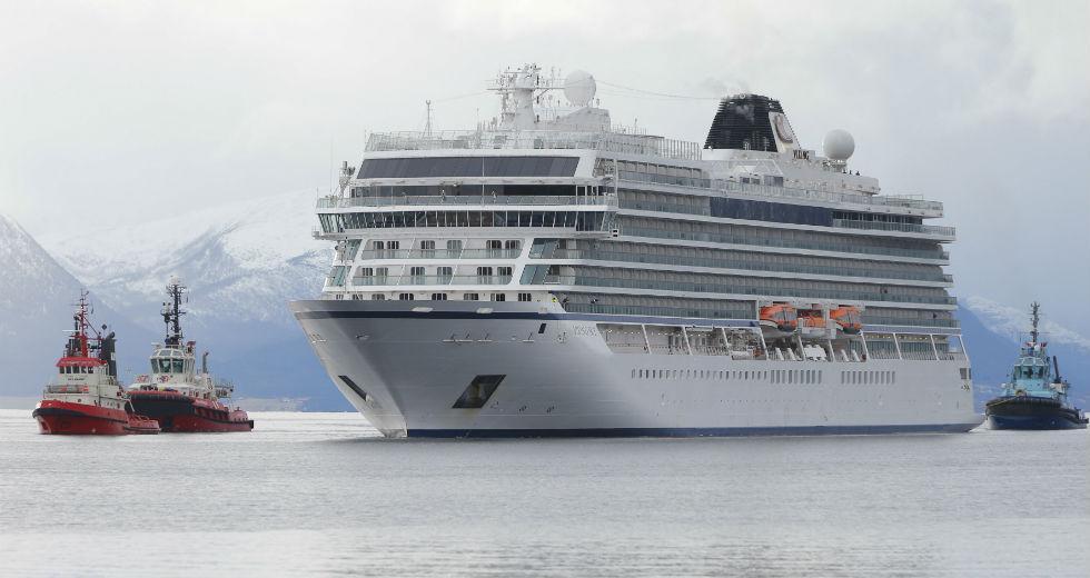 Στο λιμάνι του Μόλντε το κρουαζιερόπλοιο Viking Sky