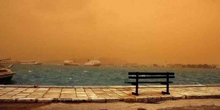 'Ερχεται η σκόνη μετά το μεσημέρι στην Κρήτη