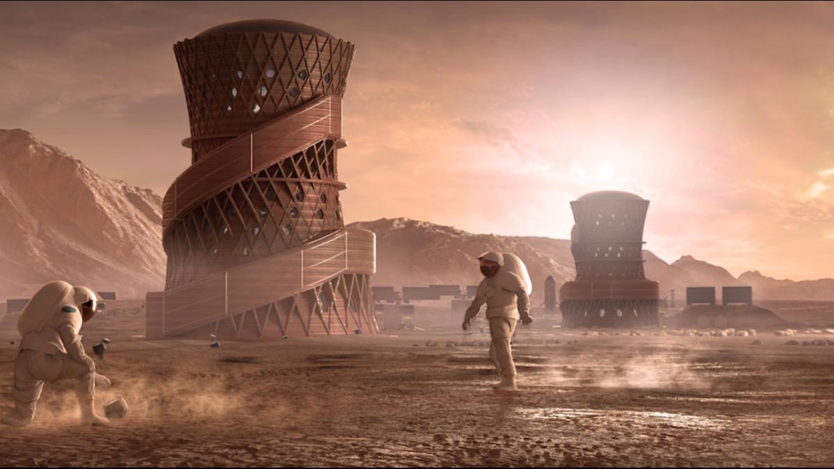 Έτσι θα είναι τα πρώτα ανθρώπινα σπίτια στον Άρη