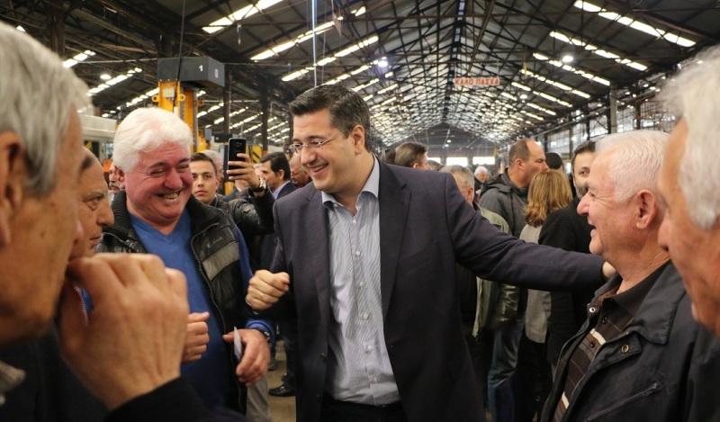 Τζιτζικώστας: «Η σύνδεση του λιμανιού της Θεσσαλονίκης με το σιδηρόδρομο που υλοποιούμε αναβαθμίζει το ρόλο της ΚΜ