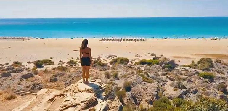Drone μας «ταξιδεύει» στα εντυπωσιακότερα τοπία της Κρήτης!