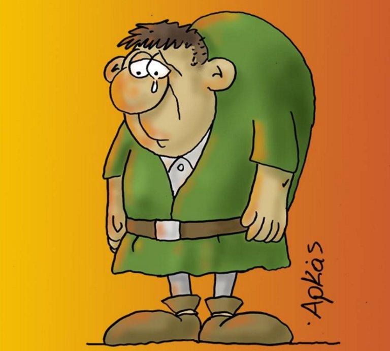 Παναγία των Παρισίων: Το συγκλονιστικό σκίτσο του Αρκά!