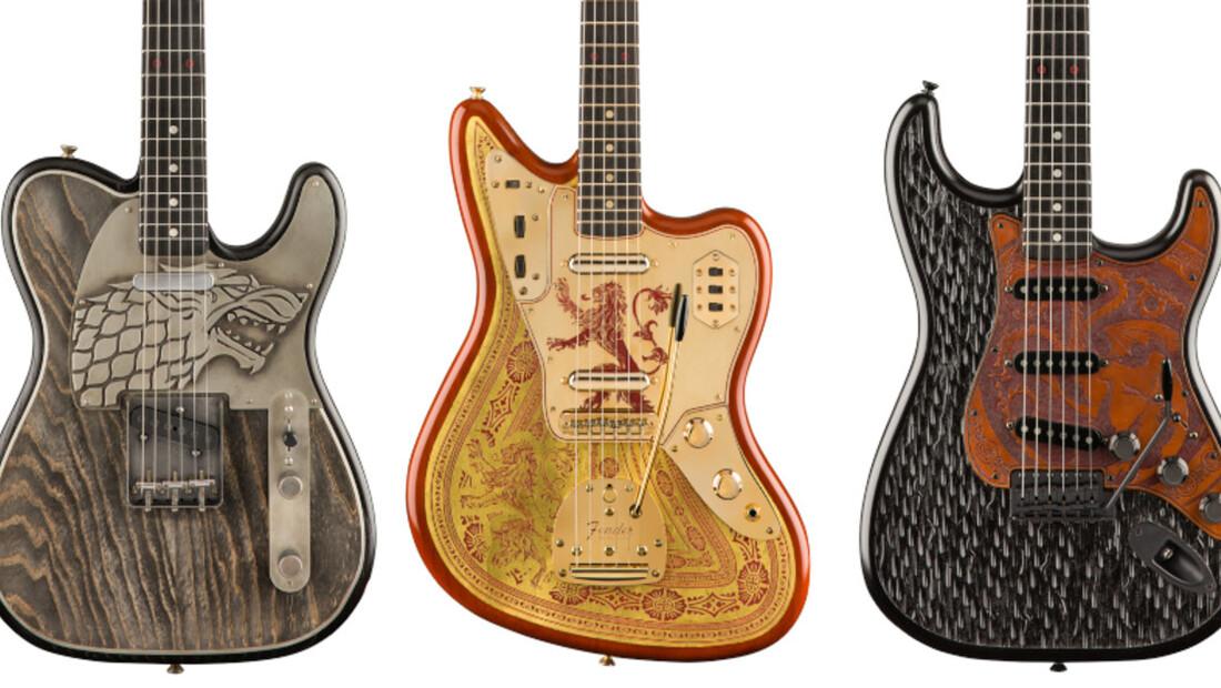 Η Fender κυκλοφορεί συλλογή με κιθάρες του GoT