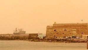 Σκόνη και νοτιάδες σήμερα στην Κρήτη