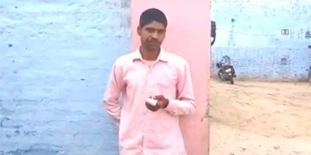 Απίστευτο: Ινδός ψήφισε λάθος κόμμα και έκοψε το δάκτυλό του [βίντεο]