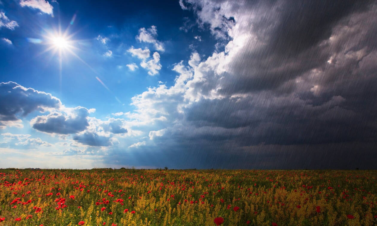 Συννεφιασμένος σήμερα ο ουρανός στην Κρήτη